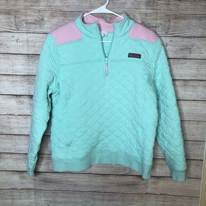 Vineyard Vine Quilted Quarter Zipped Pullover
